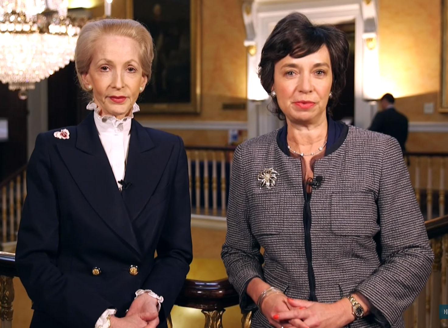 Lady Barbara Judge and Pamela Jeffery